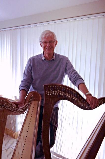 Mervyn Waugh Irish Harpmaker
